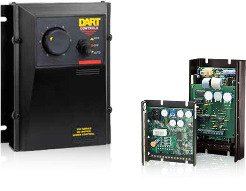 AC and DC Drives, Encoders and Digital Potentiometers Dart Control Wiring Diagrams on