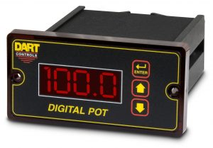 Dart Controls DP4 Speed Potentiometer Digital Potentiometer With Scalable Display No Encoder Required potentiometer digital