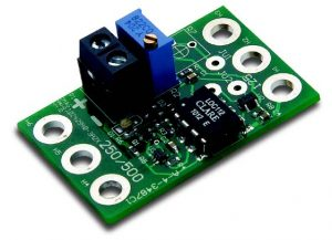 The -5 Option is a field installable, providing and isolated input for 4-20mA signals used to adjust DC motor speed via the host control
